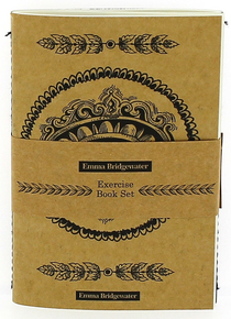 Emma Bridgewater Black Scroll Notebook Set