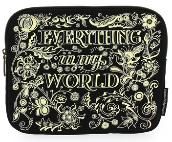 Emma Bridgewater Black Scroll Tablet Case