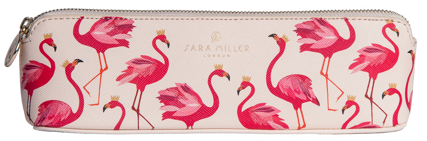 Sara Miller Pencil Case (Flamingo)