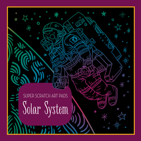 Super Scratch Art Pads: Solar System