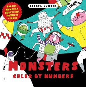 Monsters Color by Numbers