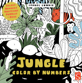 Jungle Color By Numbers