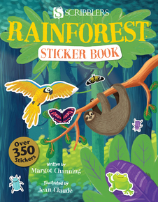Rainforest Sticker Book