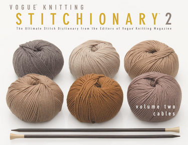 Vogue® Knitting Stitchionary® Volume Two: Cables