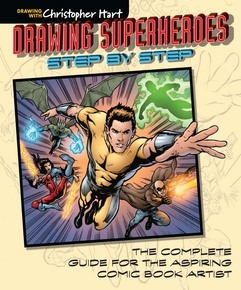 Drawing Superheroes Step by Step