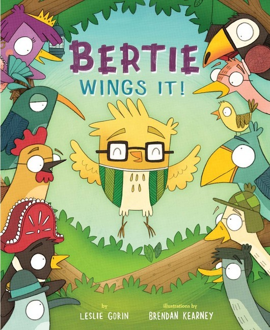 Bertie Wings It!